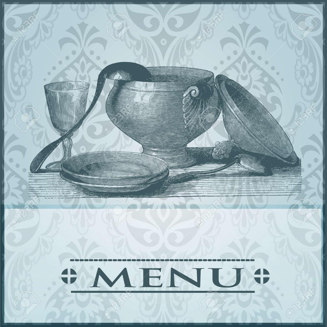Restaurant card Stock Vector - 20014447