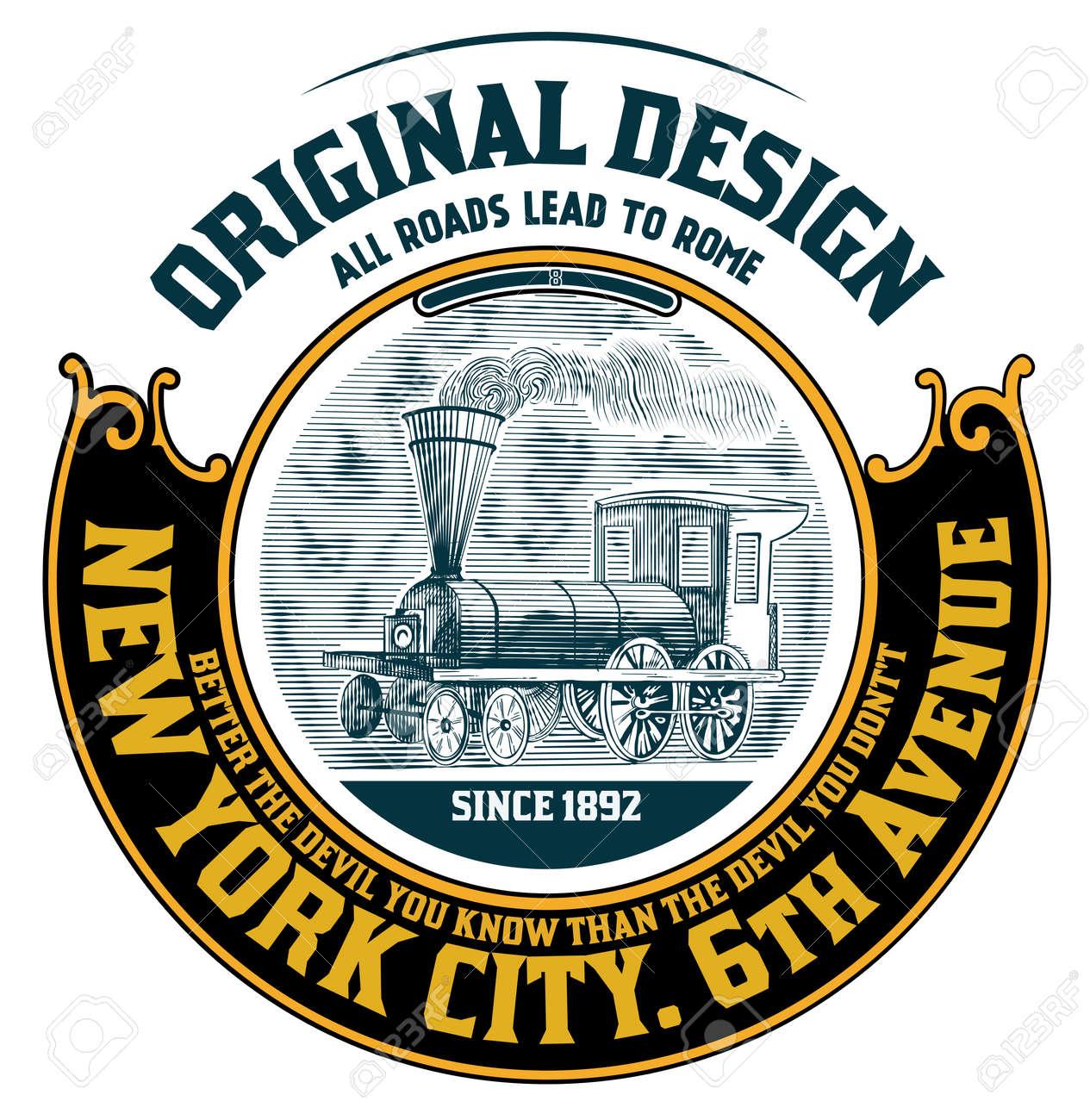 Retro design - 22774130