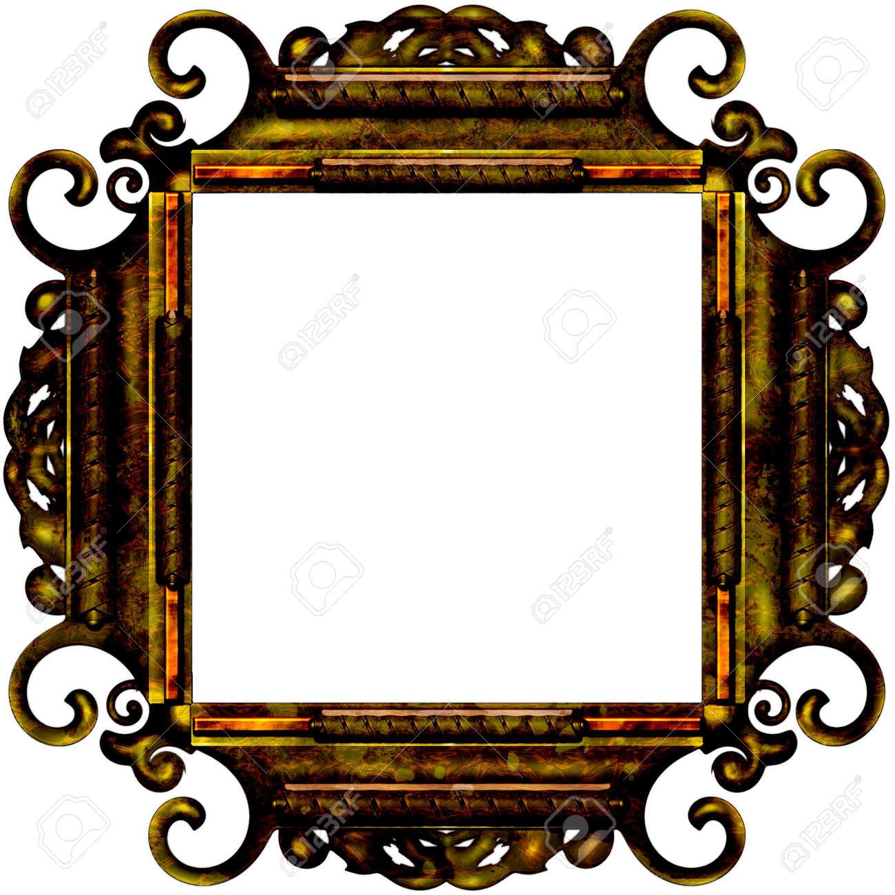 Photo frame for web or wallpaper on desktop Stock Photo - 7506305