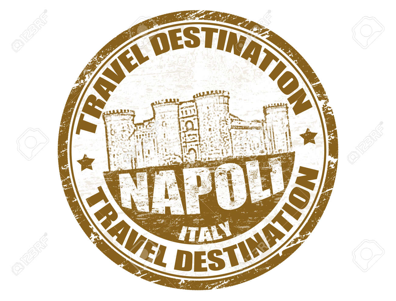 Grunge rubber stamp with the text travel destinations Napoli inside Stock Vector - 14051270