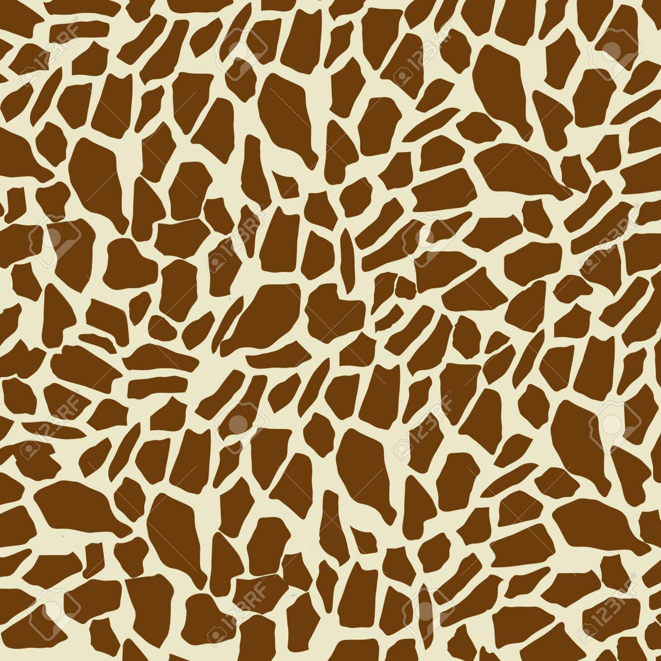 キリン模様の背景 ベクトル イラストのイラスト素材 ベクタ Image