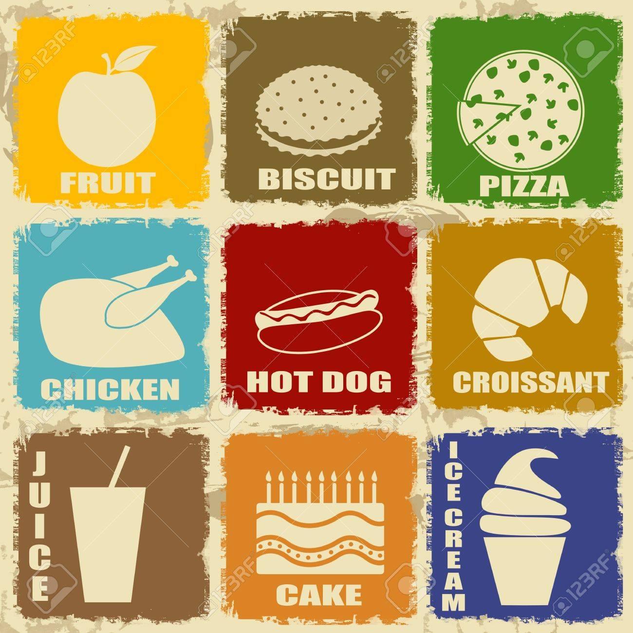Vintage Food Signs
