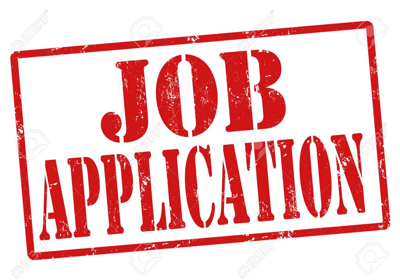 job application grunge rubber stamp on white vector illustration stock vector 22545335