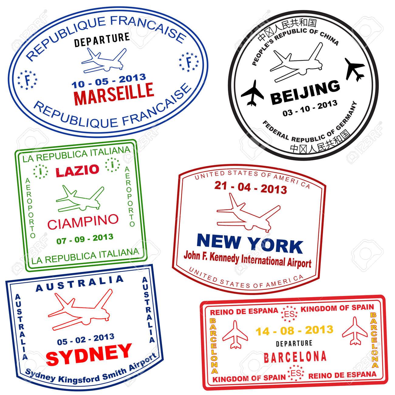4,760 Visa Stock Illustrations, Cliparts And Royalty Free Visa Vectors