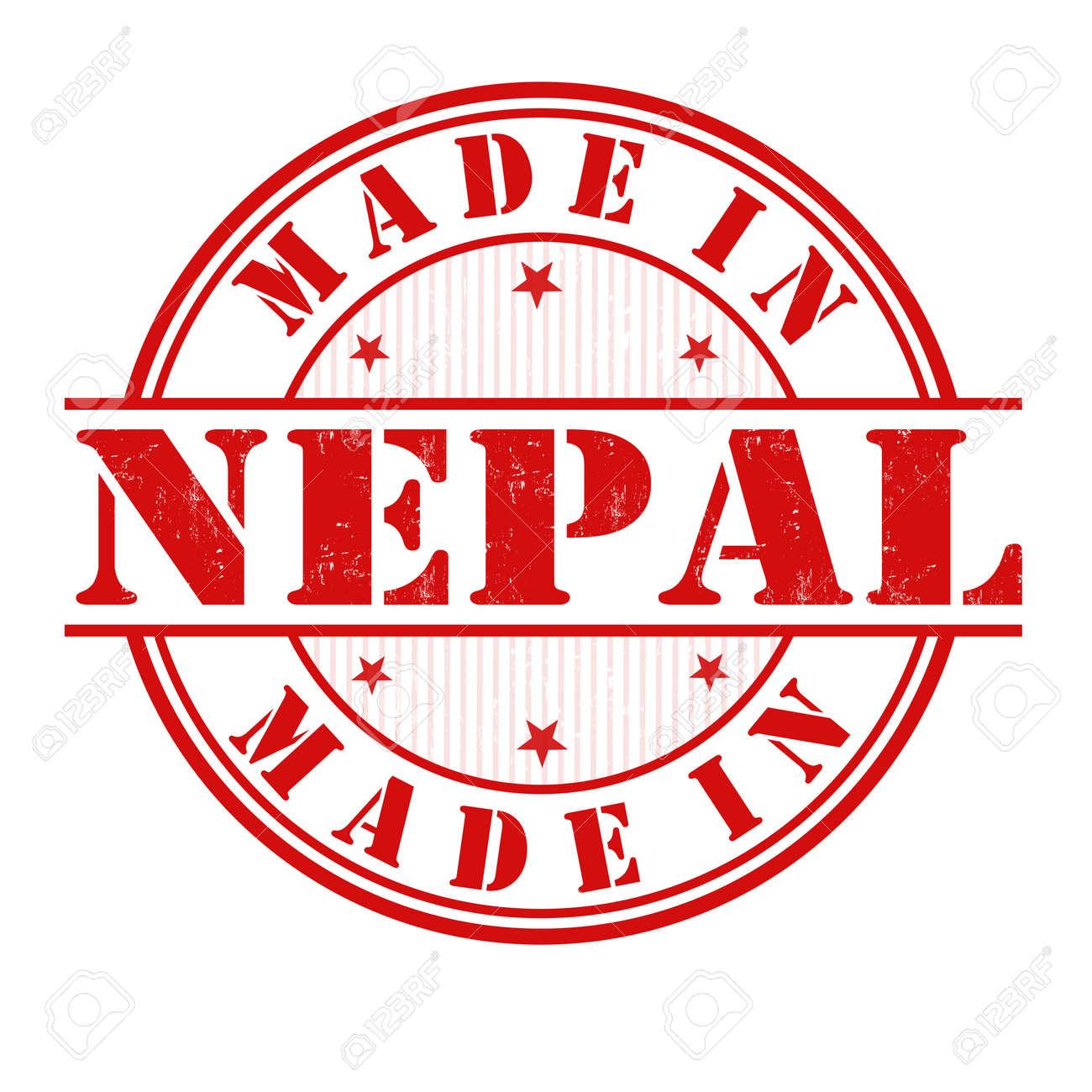 20+ Made In Nepal Grunge Rubber Stamp On White, Vector Illustration ... Bilder