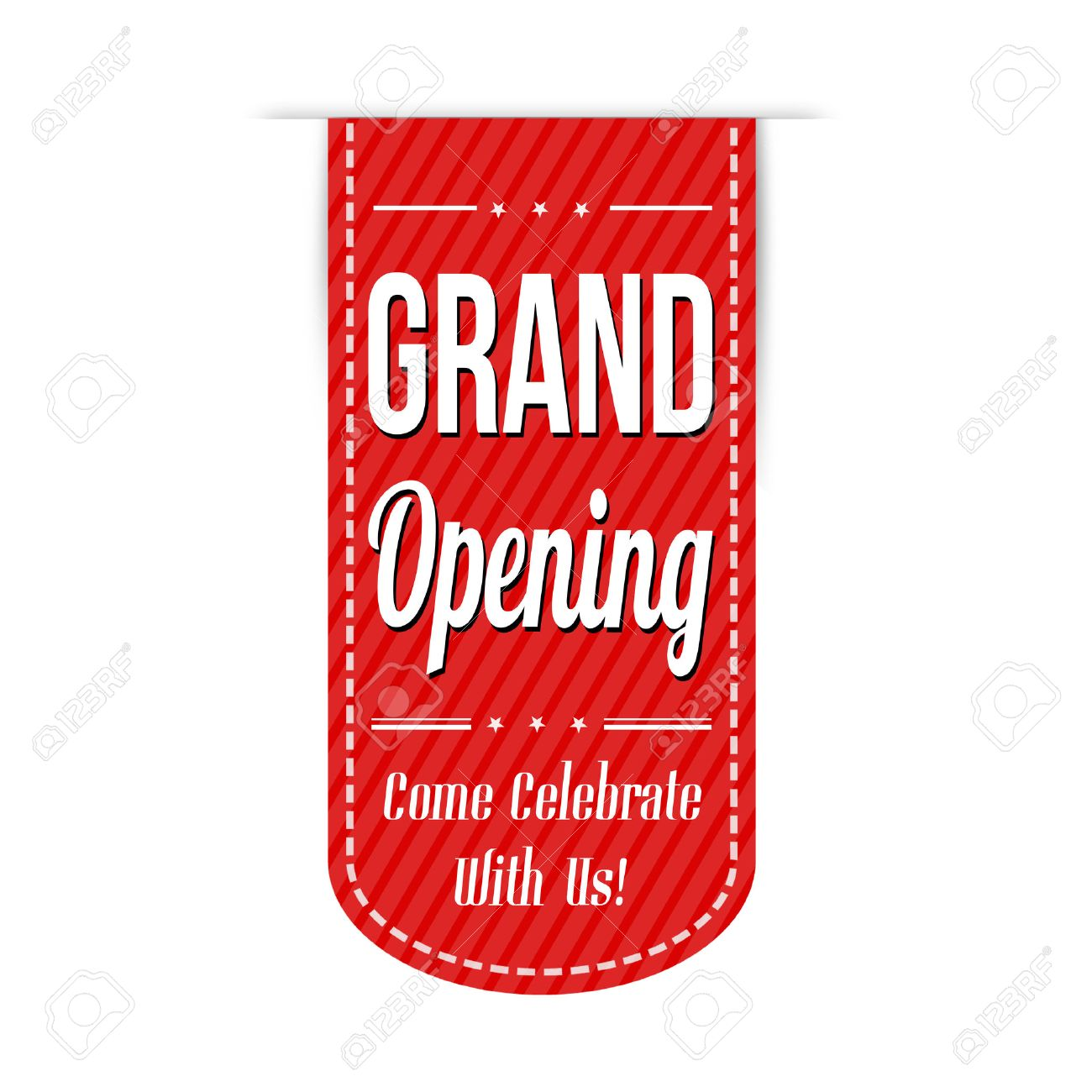 Grand Opening Banner Design Over A White Background Vector Illustration Royalty Free Cliparts Vectors And Stock Illustration Image 32436884