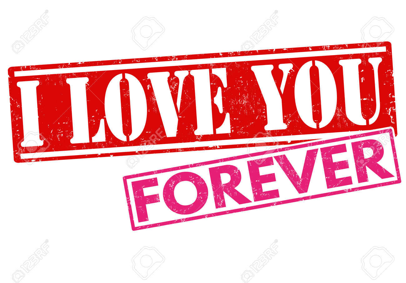 I love you forever grunge rubber stamp on white background vector i love you forever grunge rubber stamp on white background vector illustration stock vector buycottarizona Choice Image