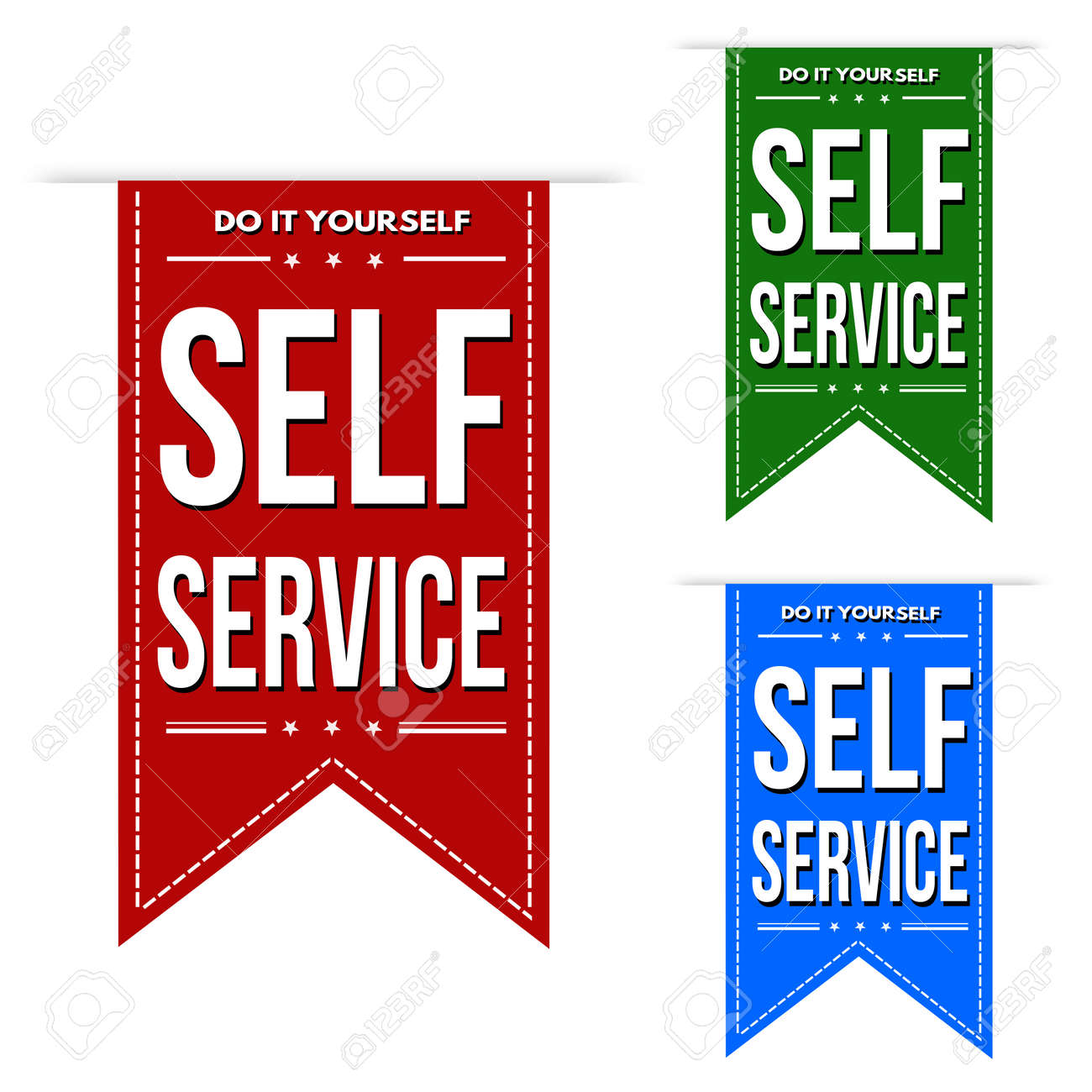 Self service banner design set over a white background vector self service banner design set over a white background vector illustration stock vector 43944073 solutioingenieria Image collections