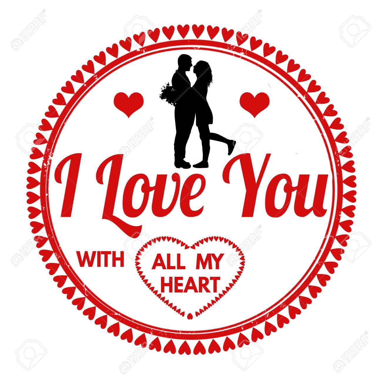 ich liebe dich von ganzem herzen