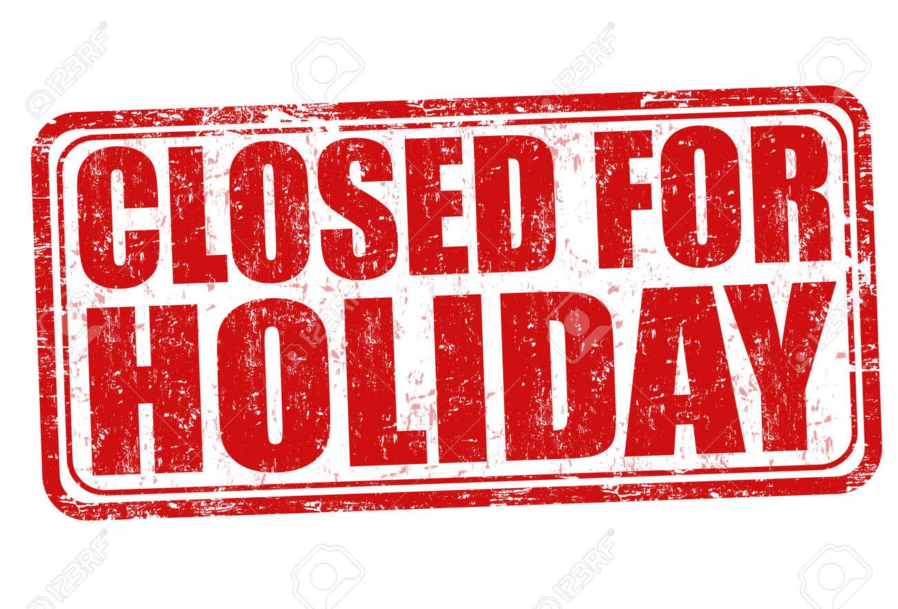 Cerrado por vacaciones del grunge sello de goma en el fondo blanco cerrado por vacaciones del grunge sello de goma en el fondo blanco ilustracin vectorial foto thecheapjerseys Choice Image