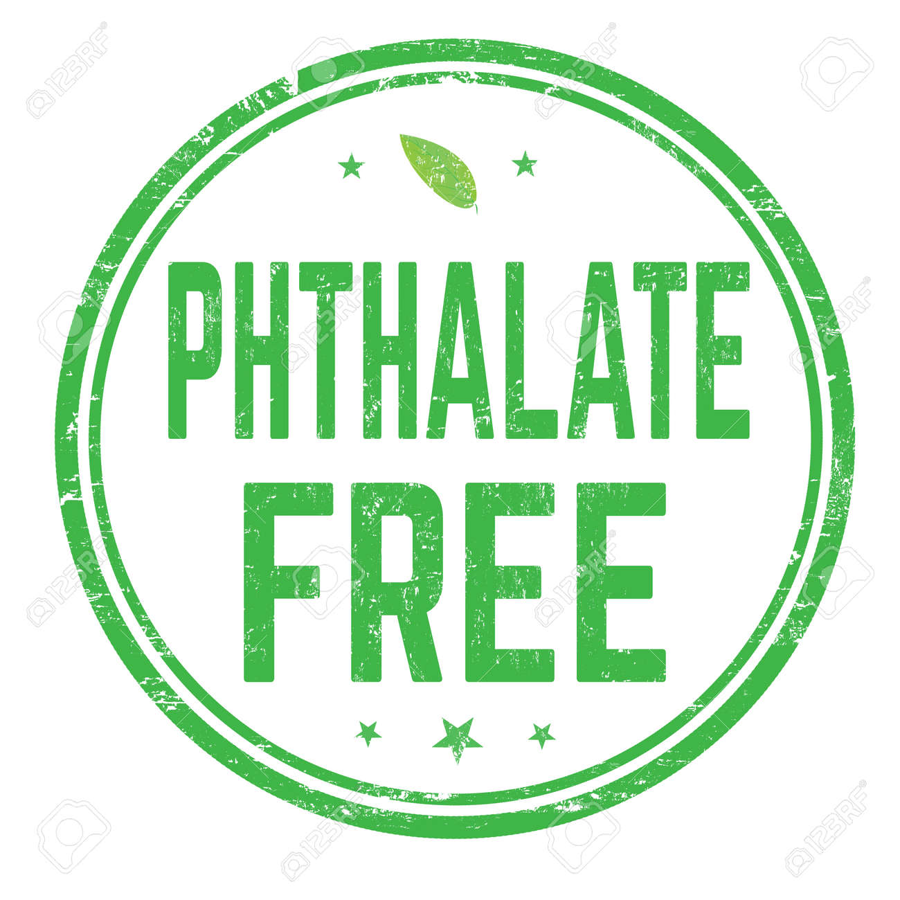Phthalate free sign or stamp on white background, vector illustration - 106933755
