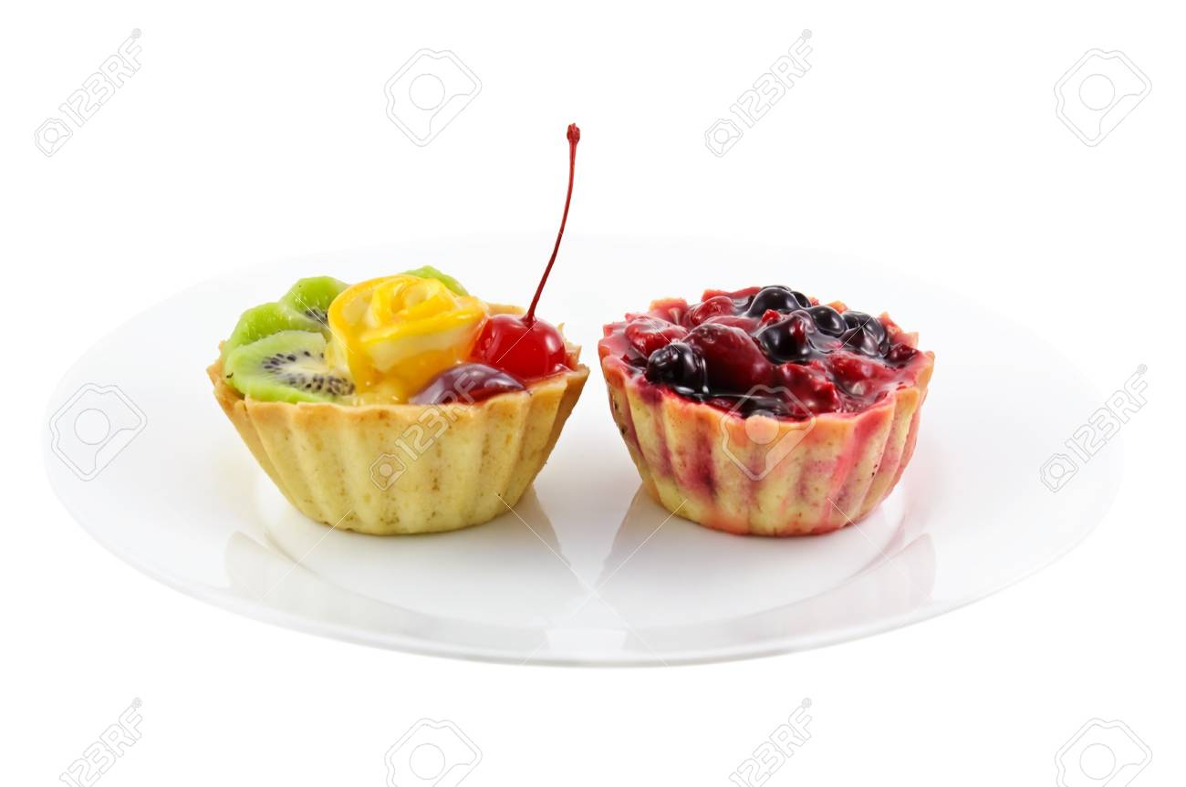 Two cupcakes Stock Photo - 8403287