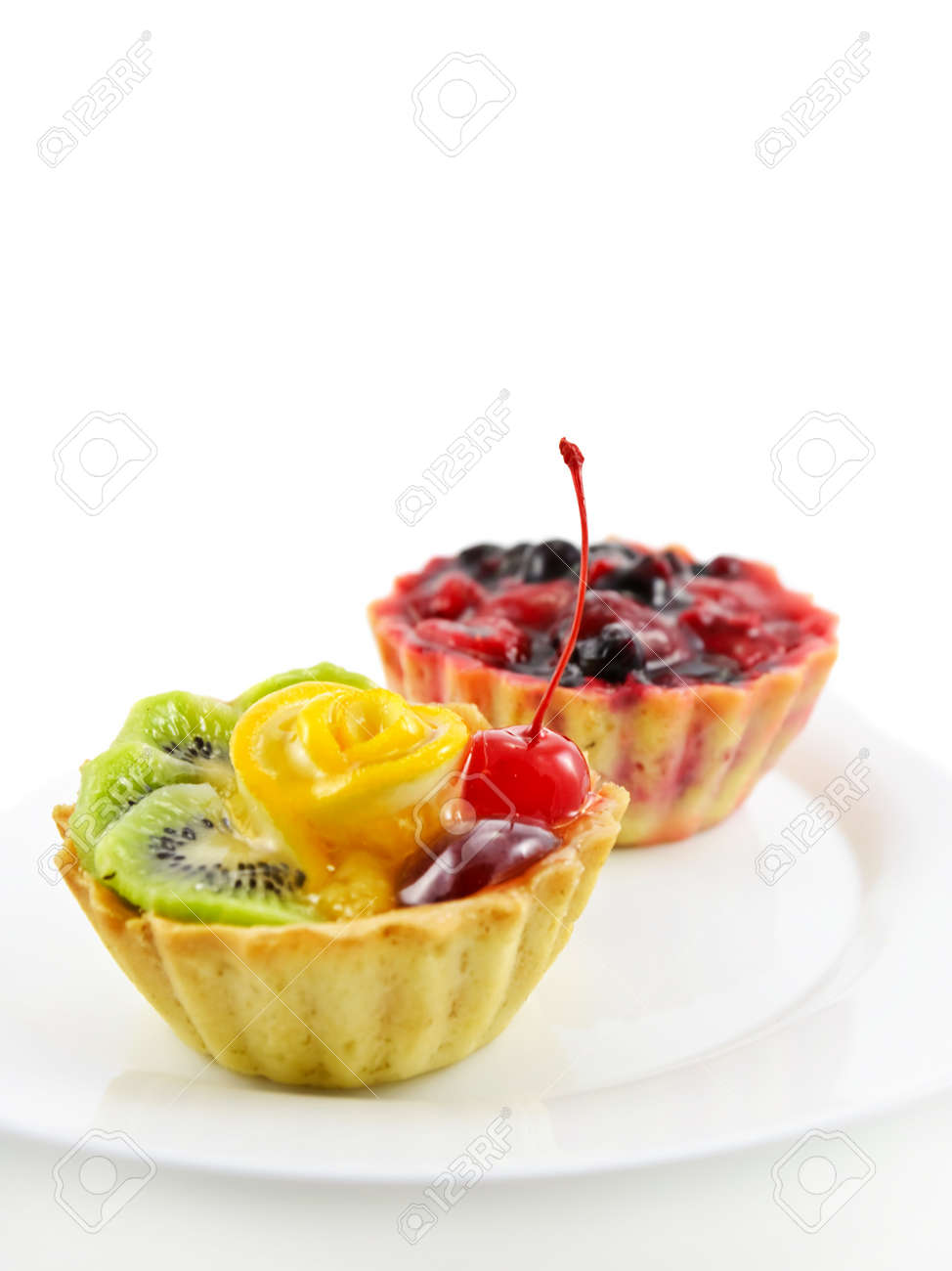 Two cupcakes Stock Photo - 8471167