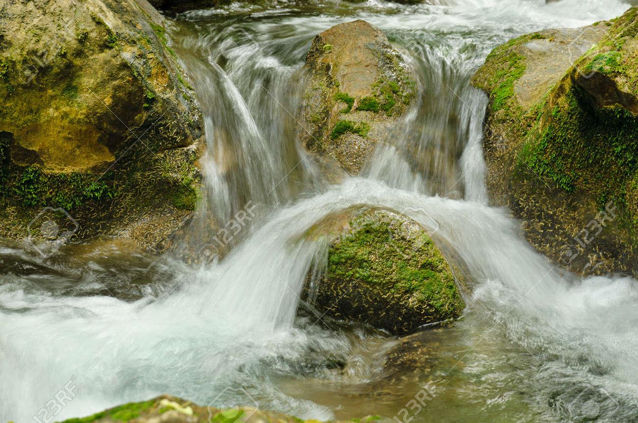 Mountain stream Stock Photo - 17448777