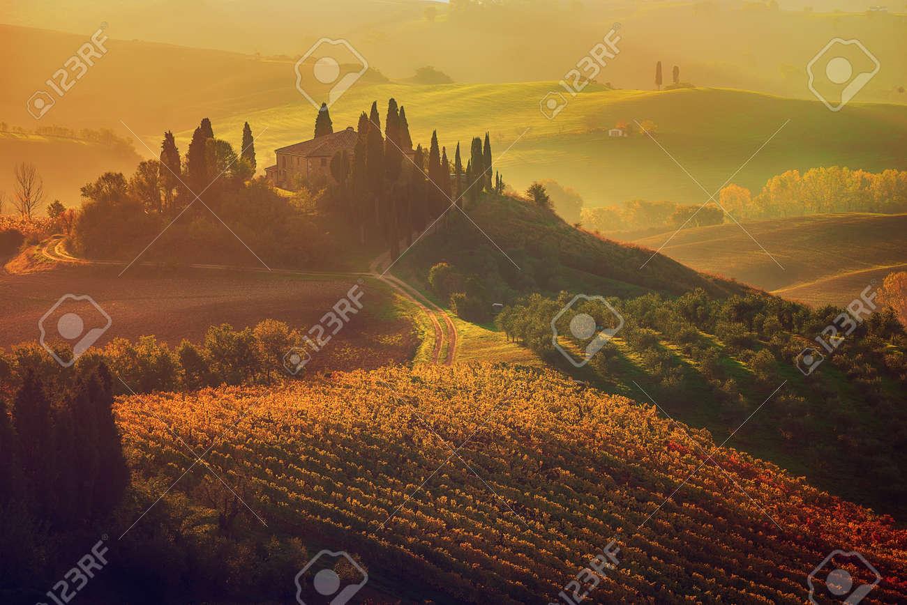 Sunrise in Italy - 129074781