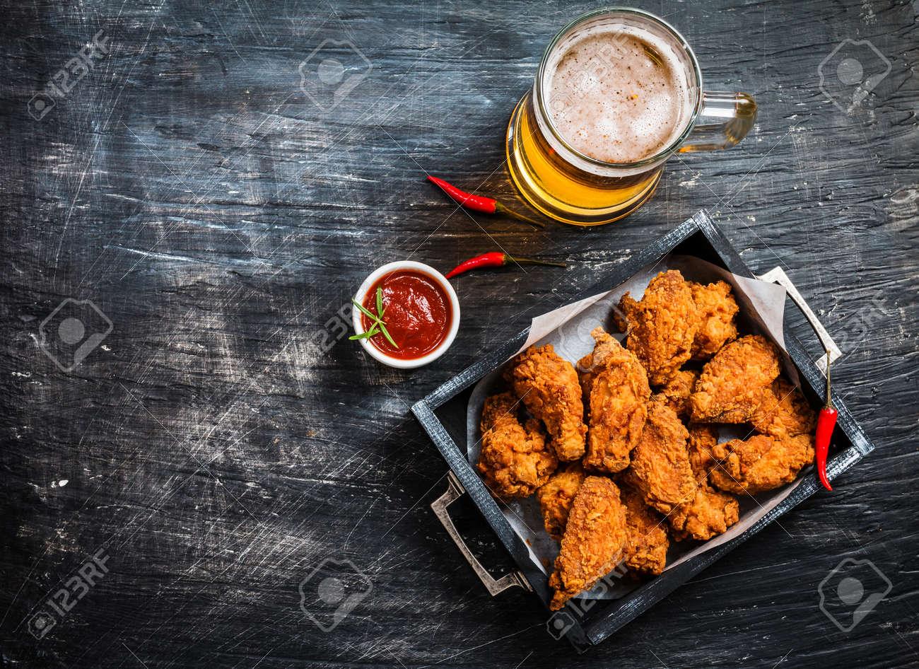 Buffalo style chicken wings - 72781527