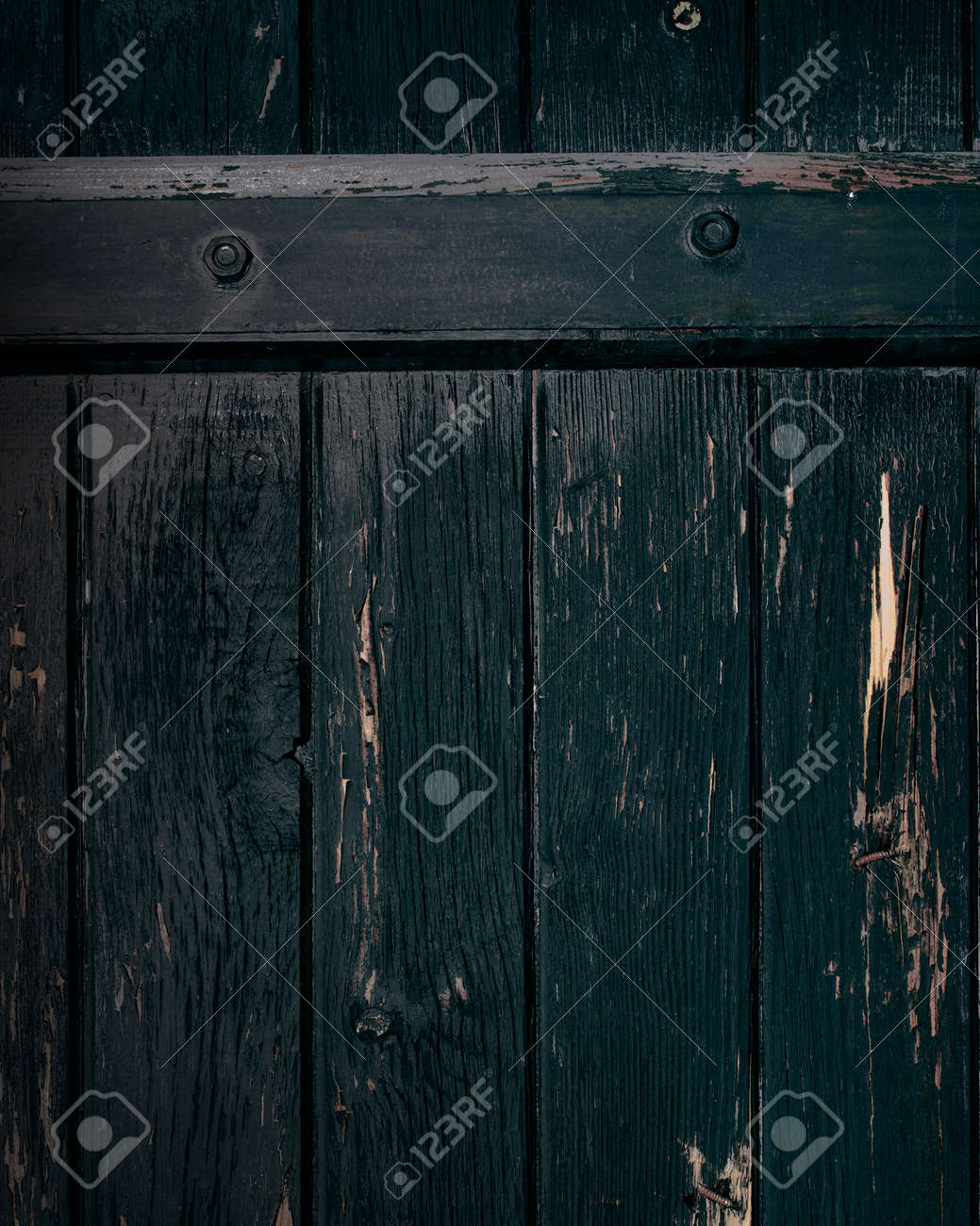 old wood black background Stock Photo - 13176107