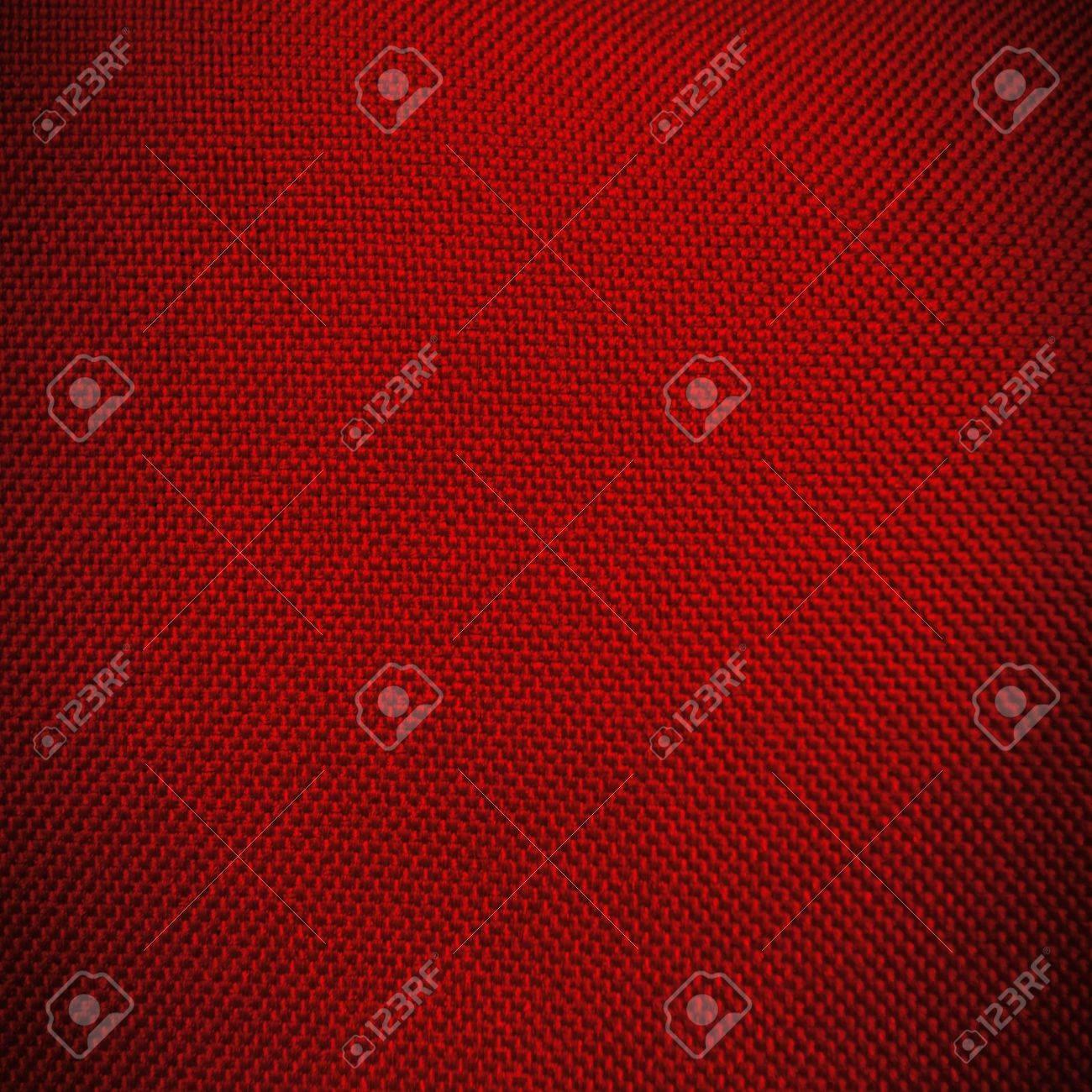 red canvas texture background with dark vignette Stock Photo - 16163015
