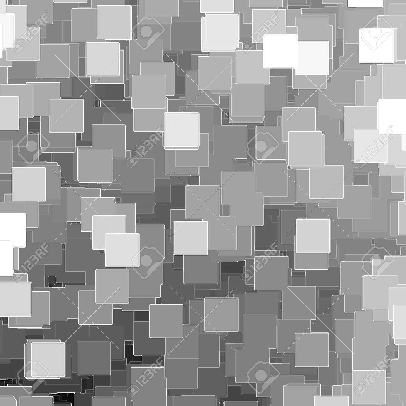 Schwarz weiß mosaik fliesen hintergrund oder textur, stücke von ...