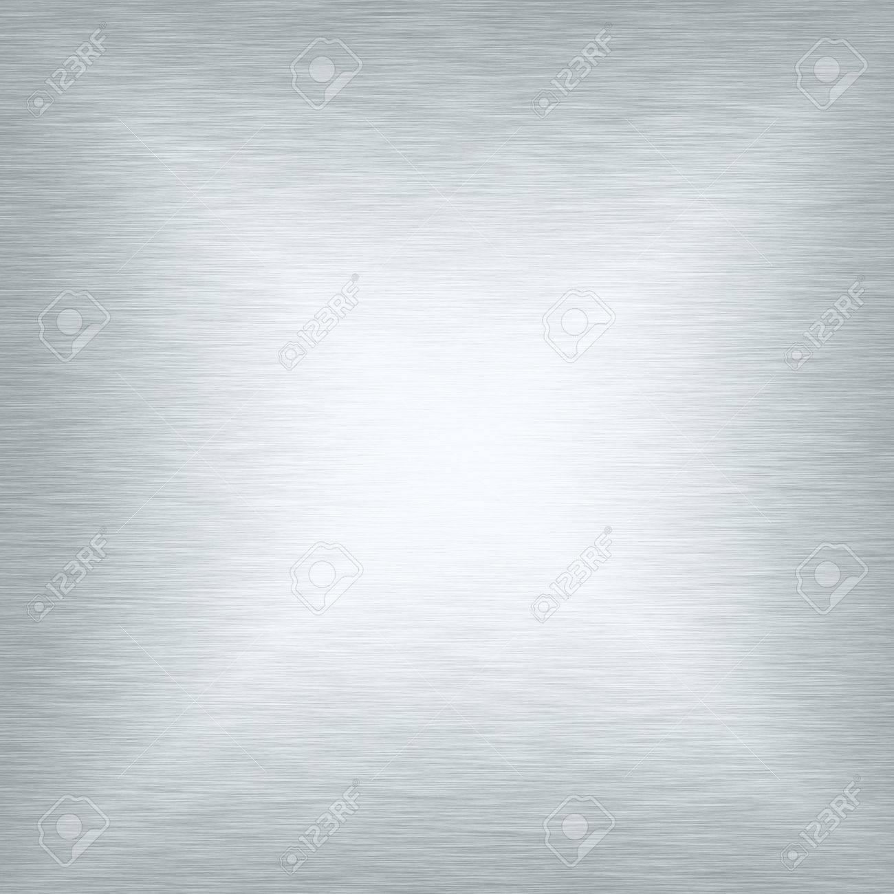 white metal texture smooth background Stock Photo - 17121925