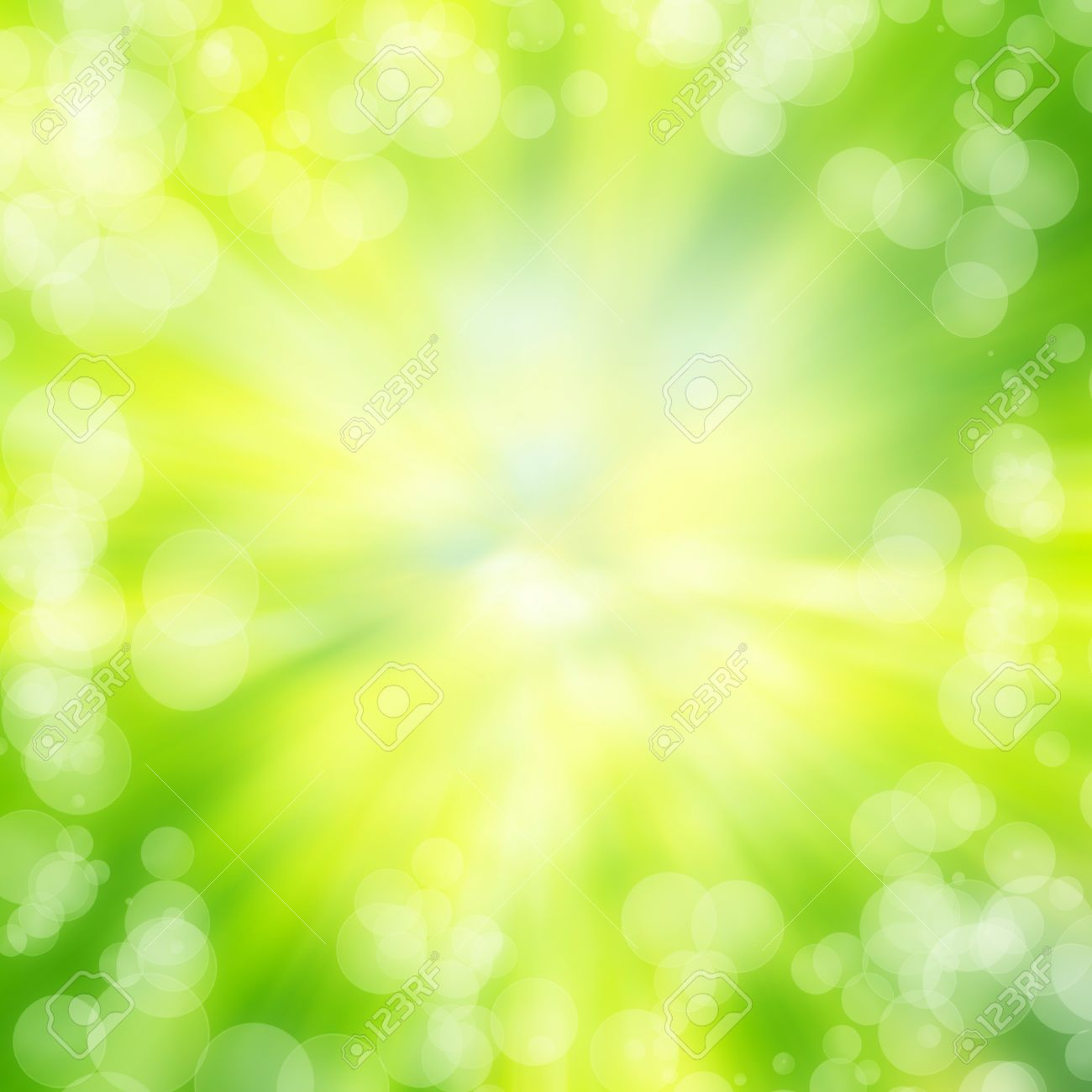green bokeh abstract light background texture Stock Photo - 18088585
