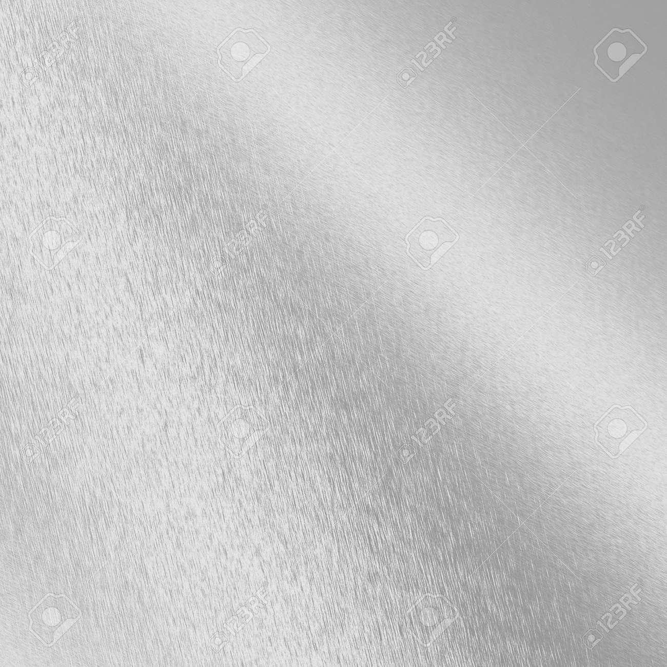 Blanco Y Plata Metálica Textura Panel De Metal Cromado O Placa Fotos ...