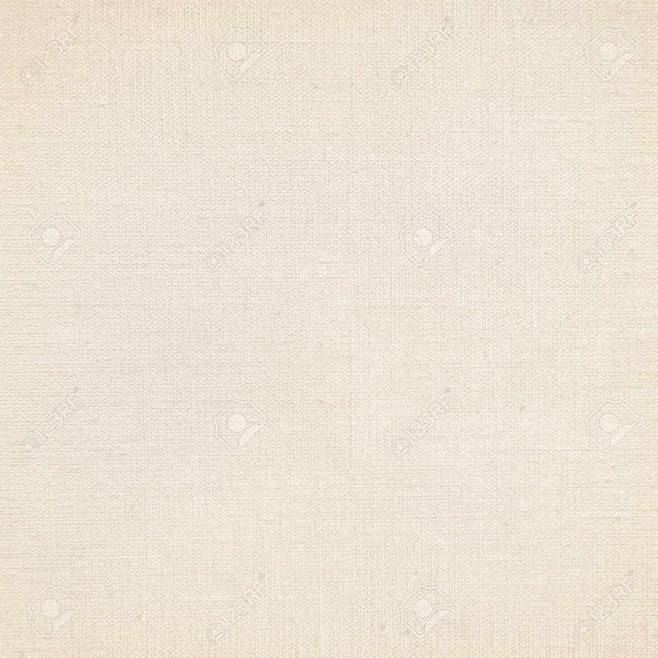beige canvas texture paper background Stock Photo - 20993114