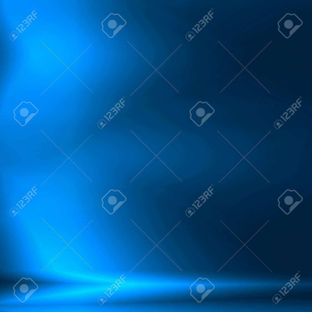 blue abstract background as square banner template for modern technology or bank finance advertising Stock Photo - 25243076