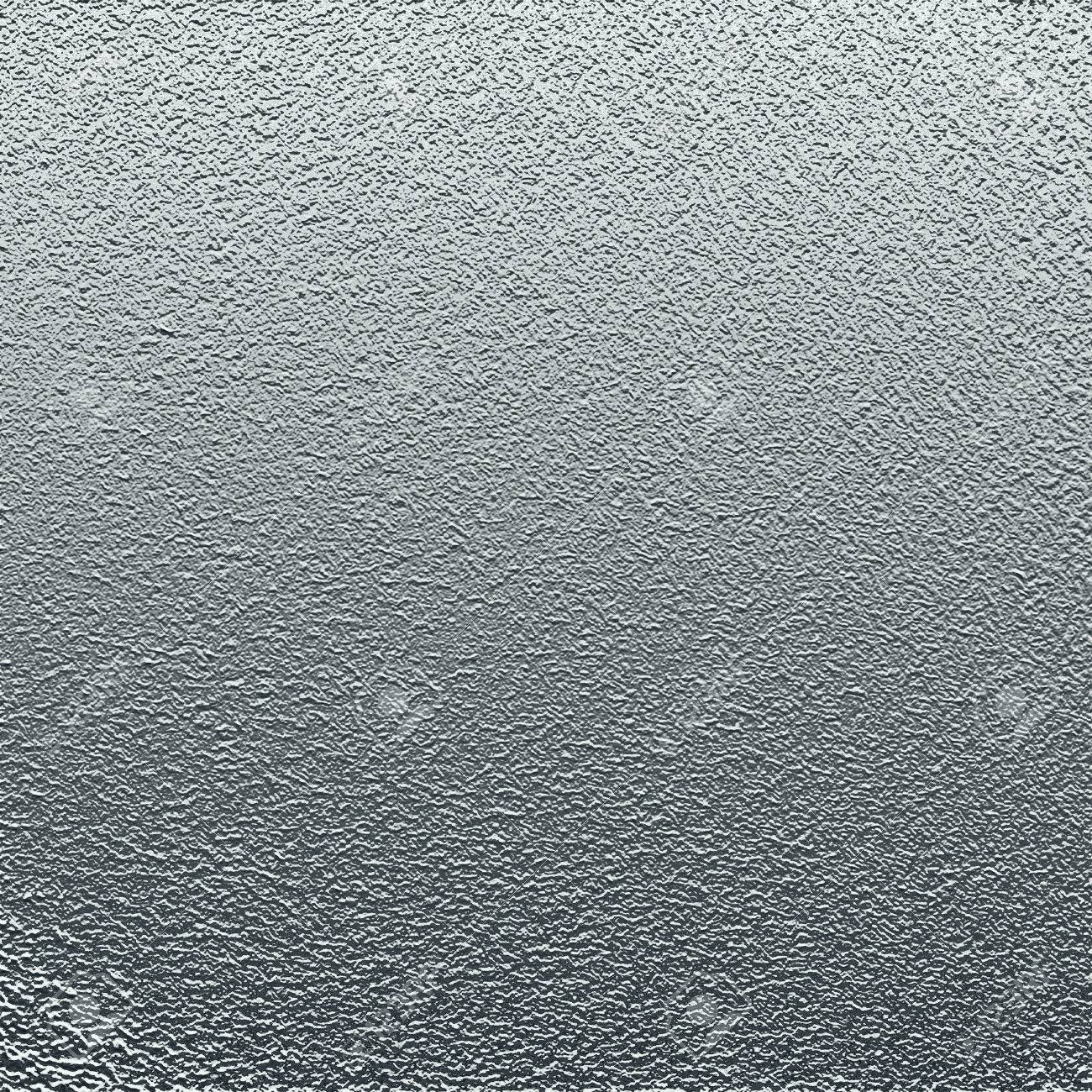 Silver Background Metal Texture Grainy Pattern Stock Photo