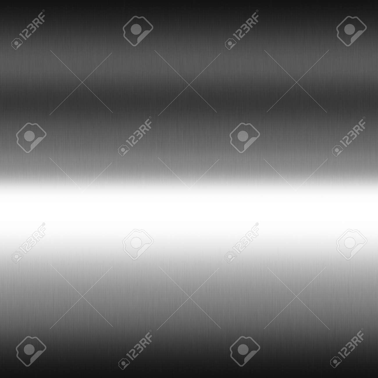 Immagini Stock Liscio Cromato Metal Texture Senza Soluzione Di