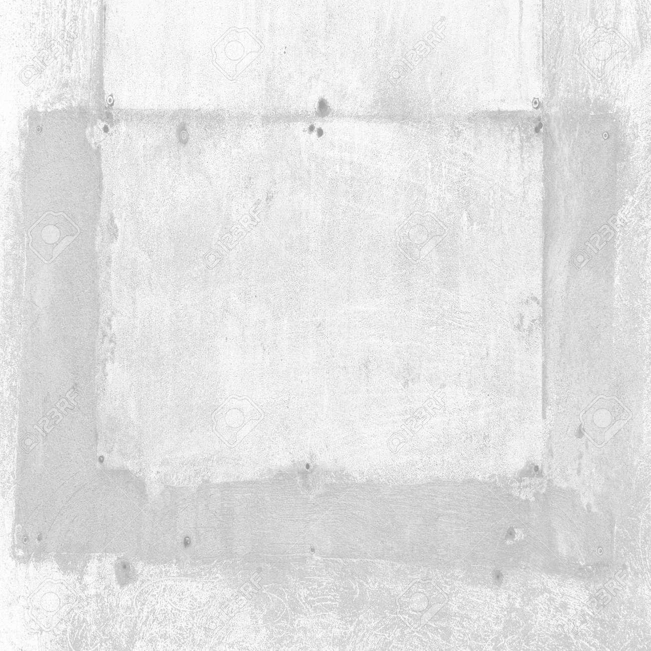 Alte Mauer Textur Weißen Hintergrund, Malerei Spur Oder Betonrahmen ...
