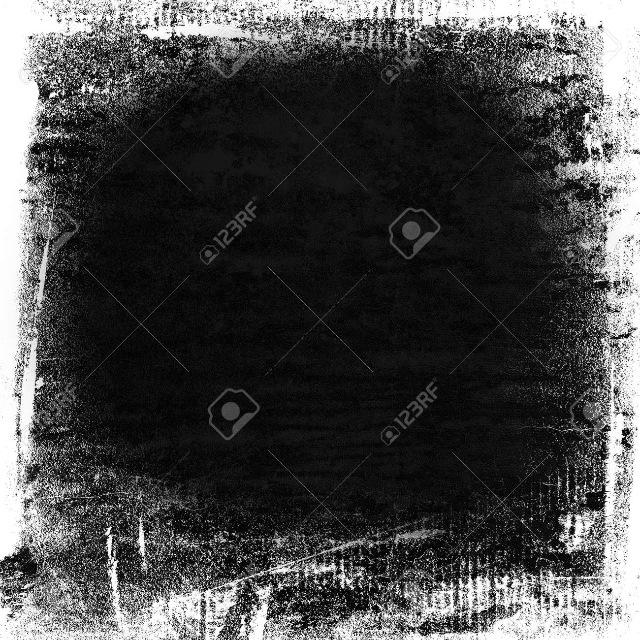 Black Paint Texture On Old Canvas Background Grunge Background