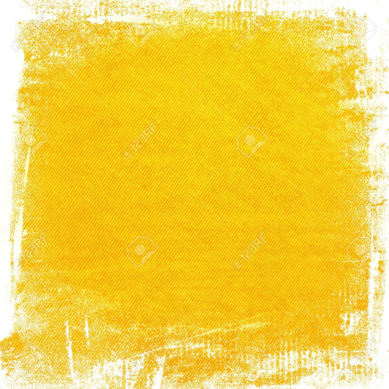 yellow watercolor paint grunge background canvas texture background