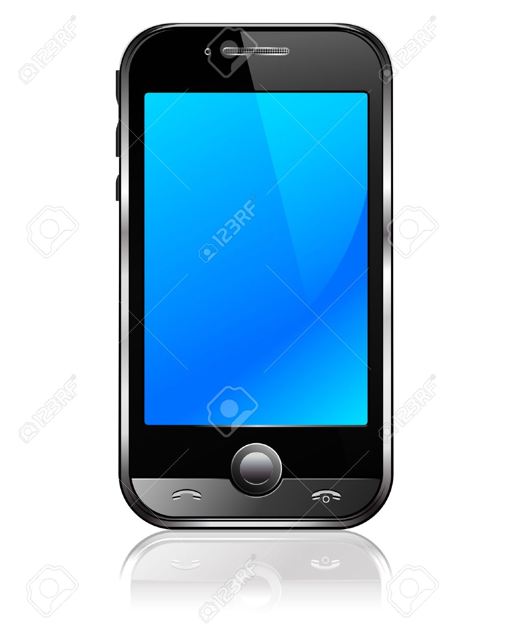 Cell Smart Mobile Phone Stock Vector - 9088021