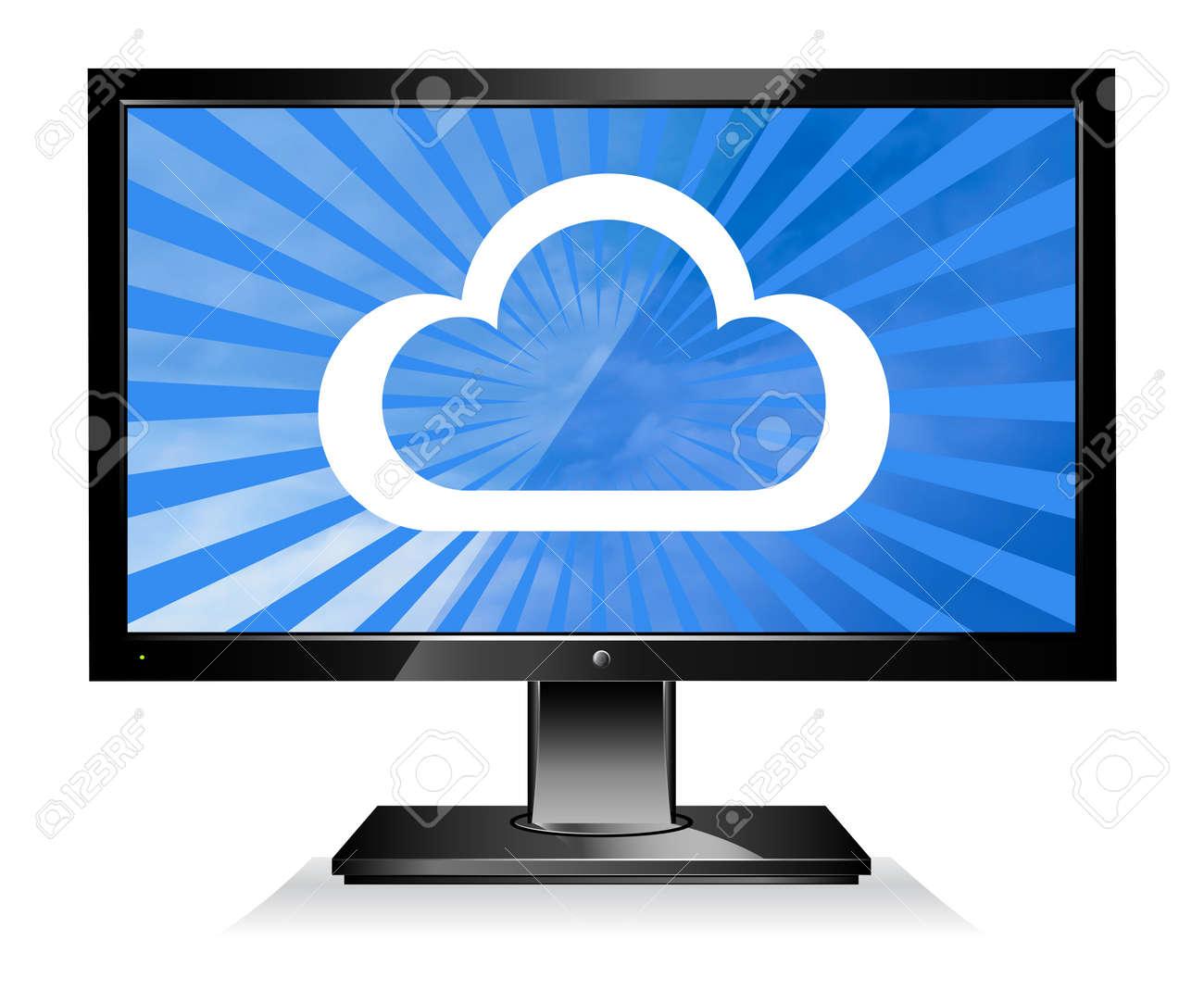 Cloud Computing concept Stock Photo - 9917252