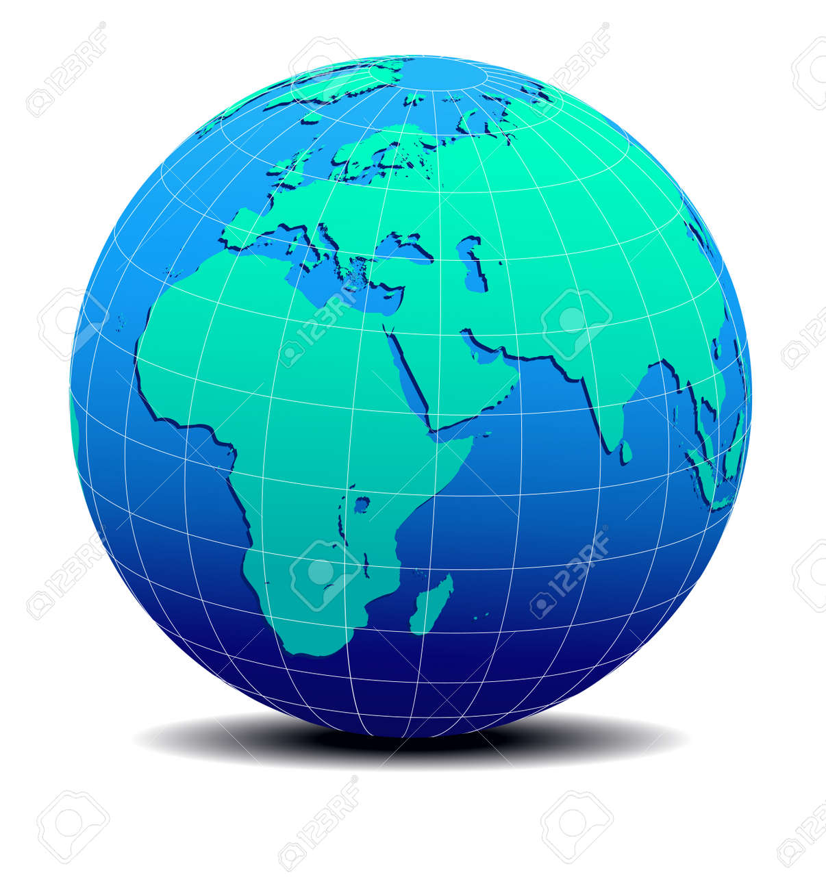 Africa arabia and india global world map royalty free cliparts africa arabia and india global world map stock vector 17540902 gumiabroncs Choice Image