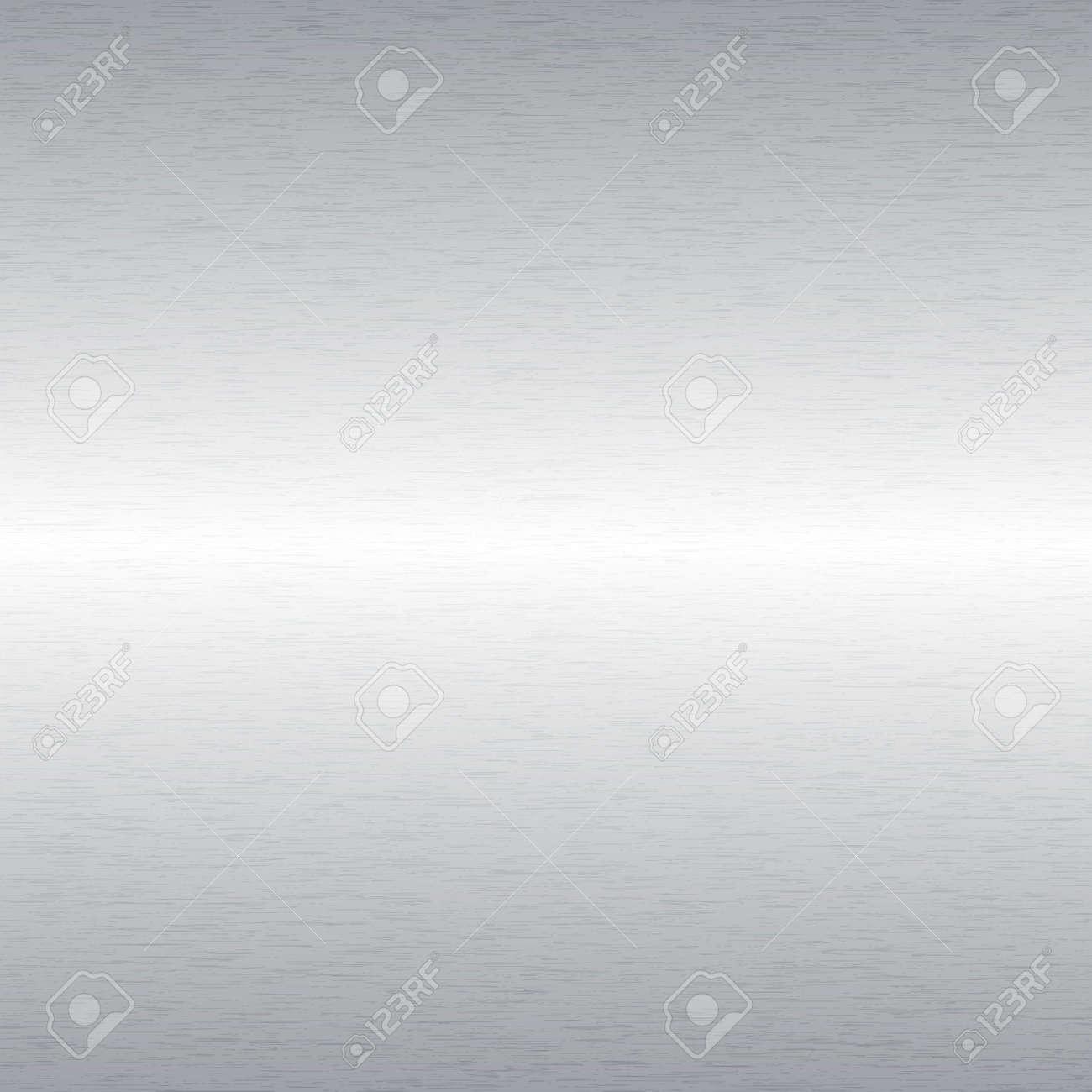 Aluminium Brushed Metal Background Stock Vector - 23210494