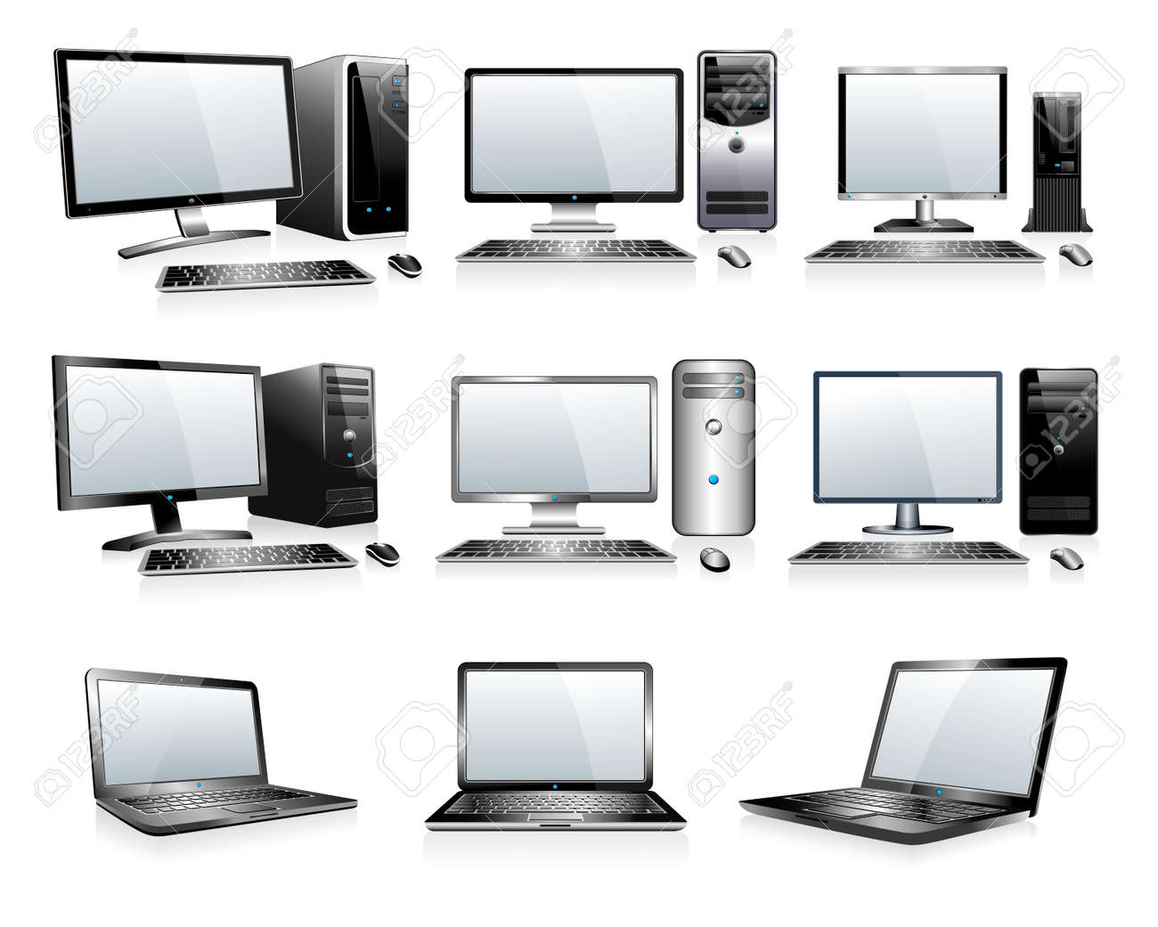 3D and 2D Computers - 29720533