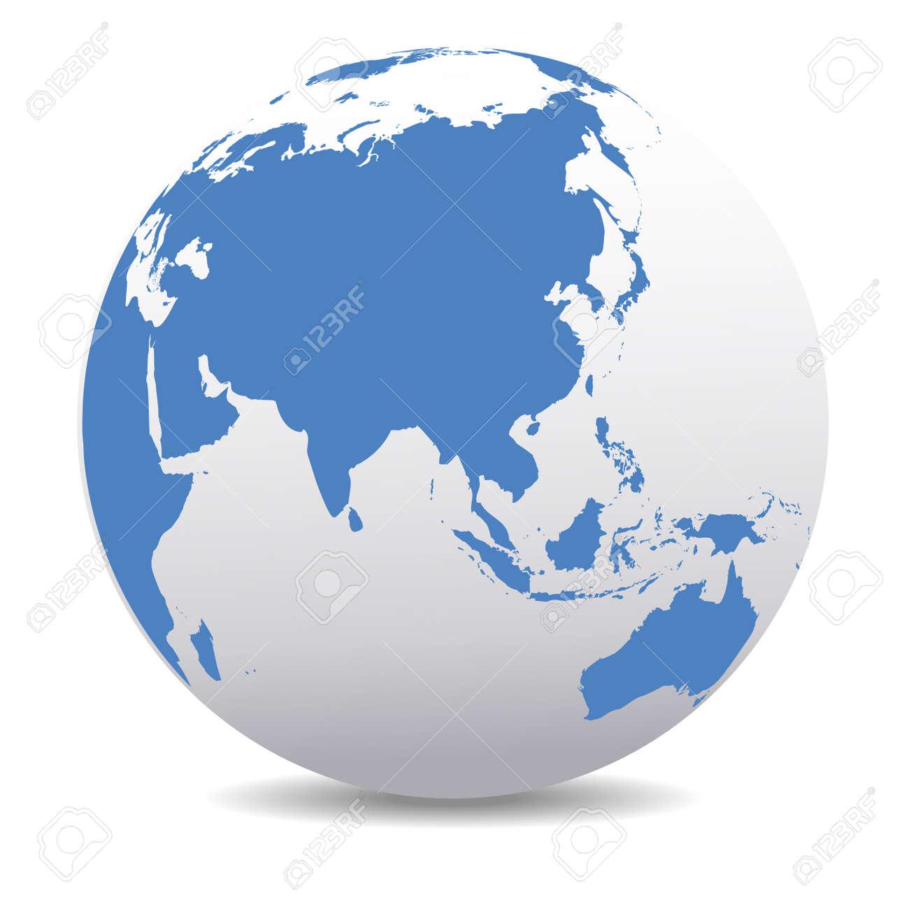 China and Asia, Global World - 33238196