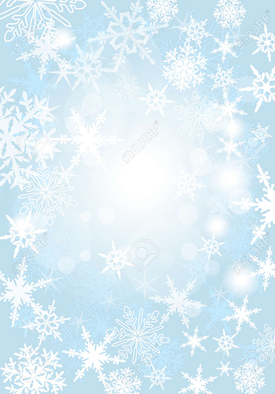 Snowfall Background - 33247876