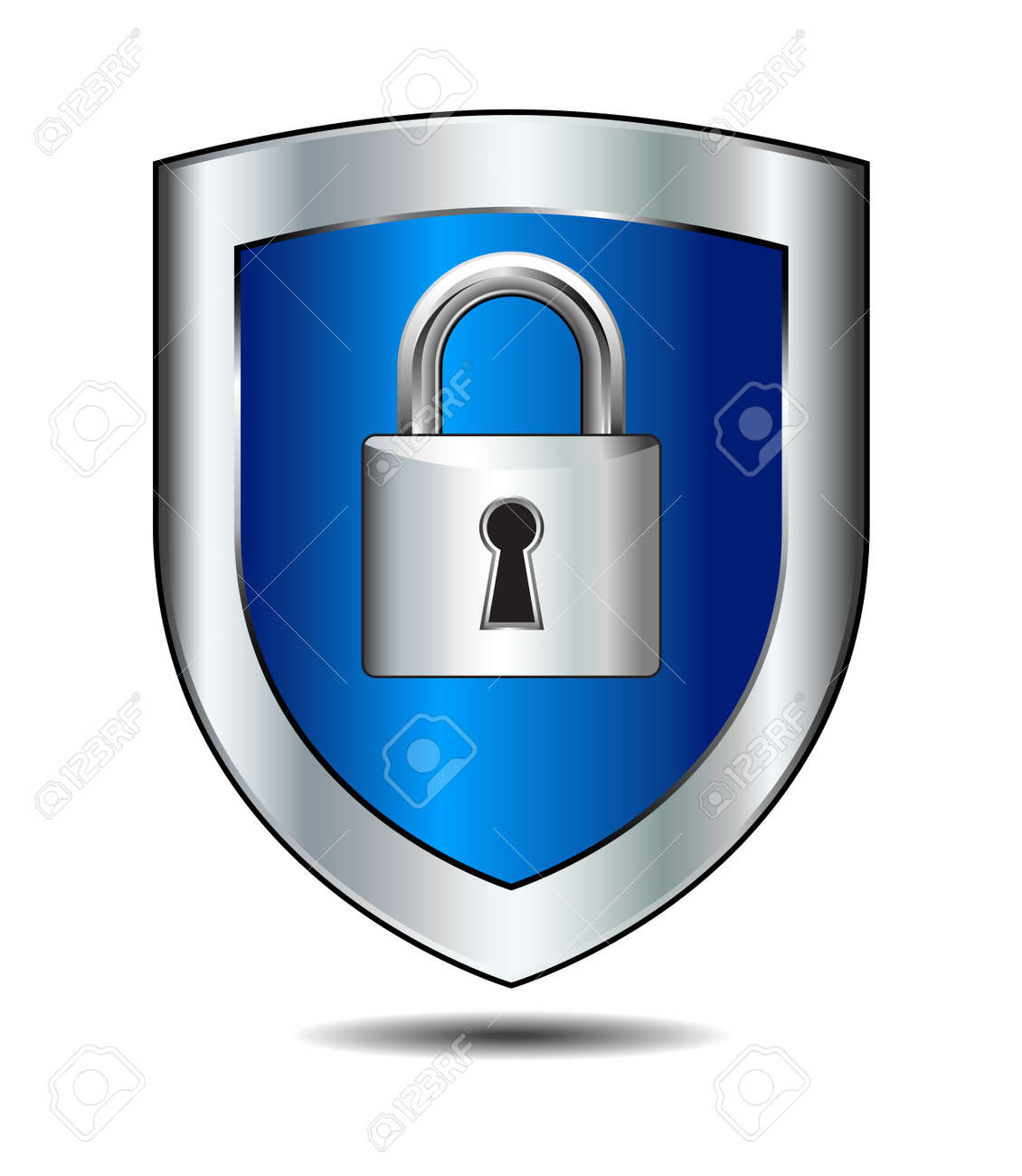 Shield Lock - 34402649