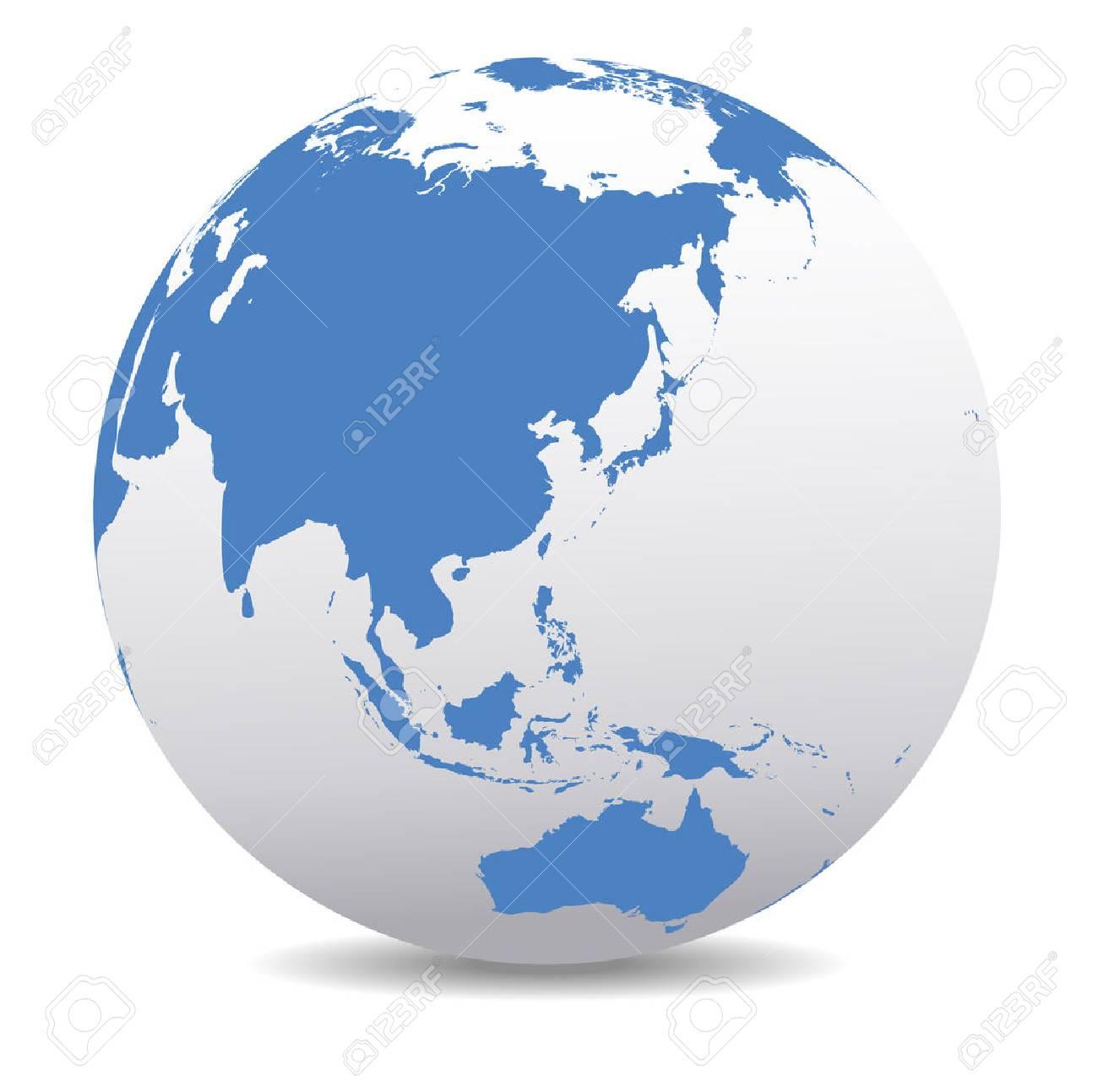 China, Malaysia, Thailand, Indonesia, Global World - 36051704