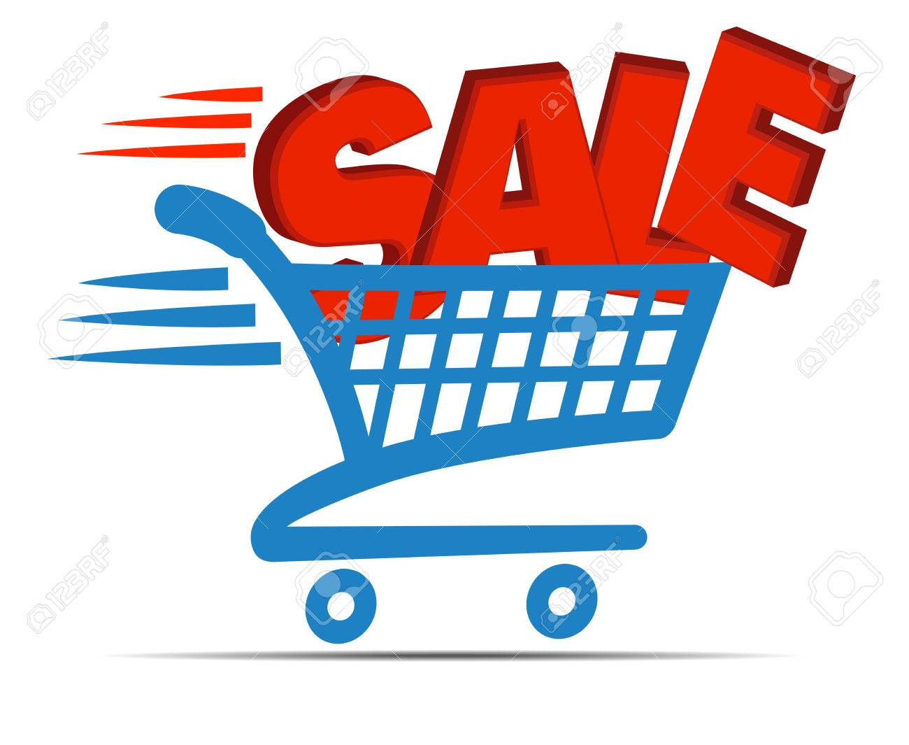 Check Out Cart SALE Icon Symbol - SALE Banner - 43613555
