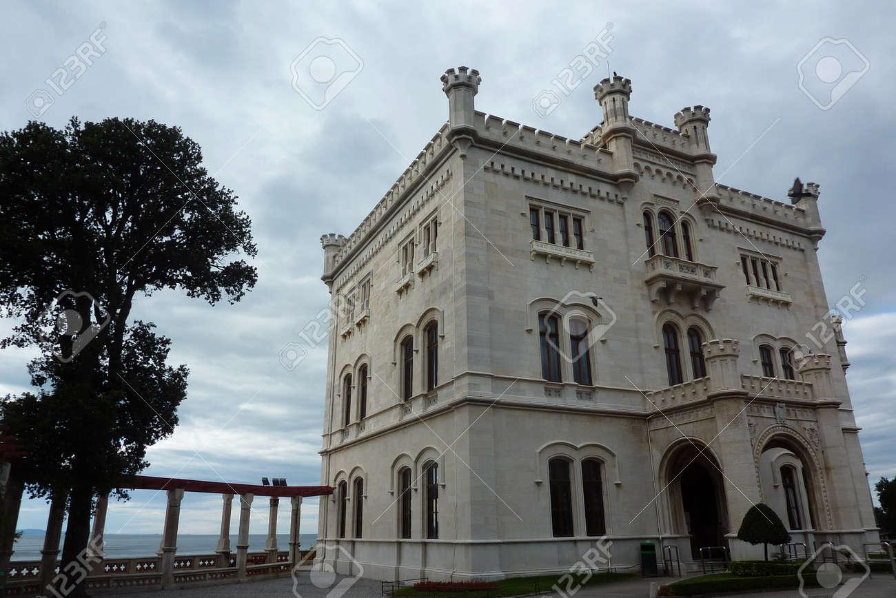 Miramare castle Italy Stock Photo - 11786359
