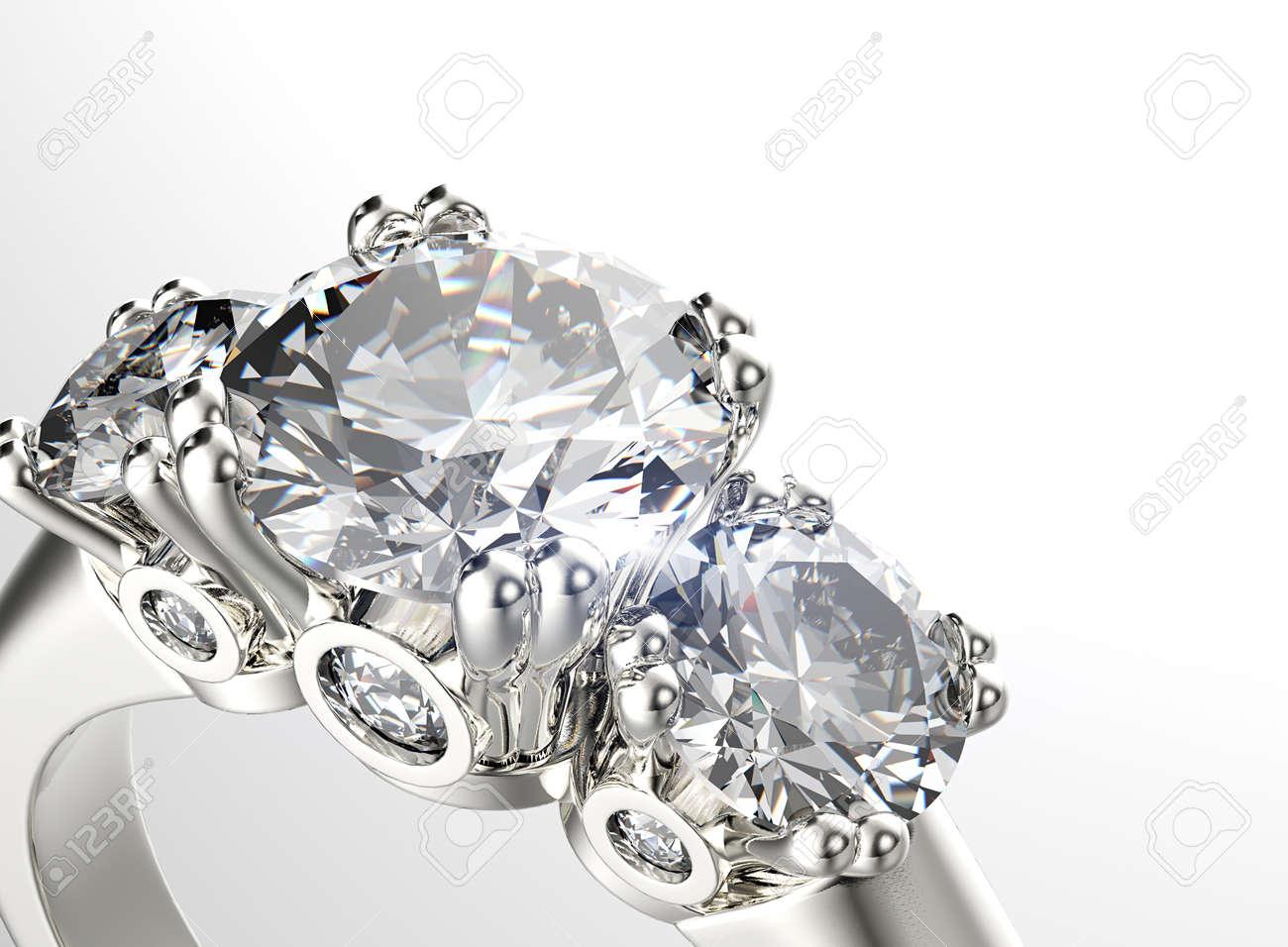 Diamanten schmuck  Golden Ring Mit Diamanten. Schmuck Hintergrund Lizenzfreie Fotos ...