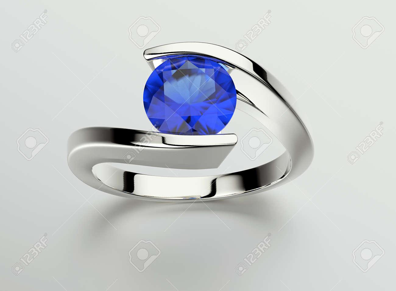 Ring Mit Diamanten Schmuck Hintergrund Valentine Und Hochzeit