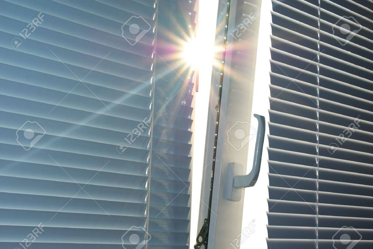 Sun through the window. Element of design. Stock Photo - 7990822