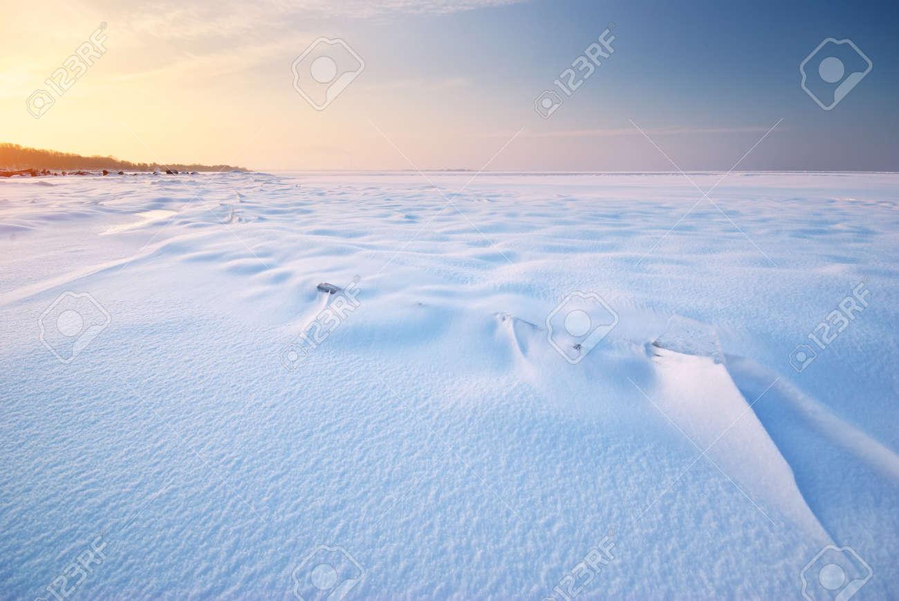 Winter landscape. Composition of nature. Stock Photo - 14790578