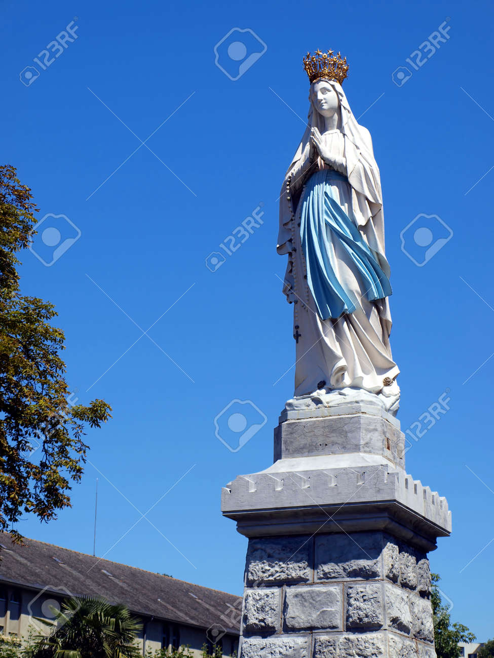 statue of the Virgin Mary in Lourdes, France - 11297060