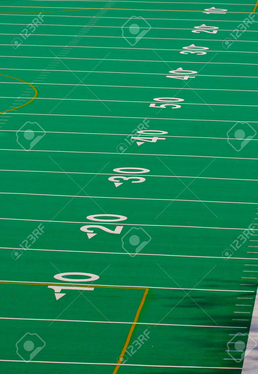 Football Field Full 100 Yards Stock Photo Picture And Royalty Free Image Image 361880